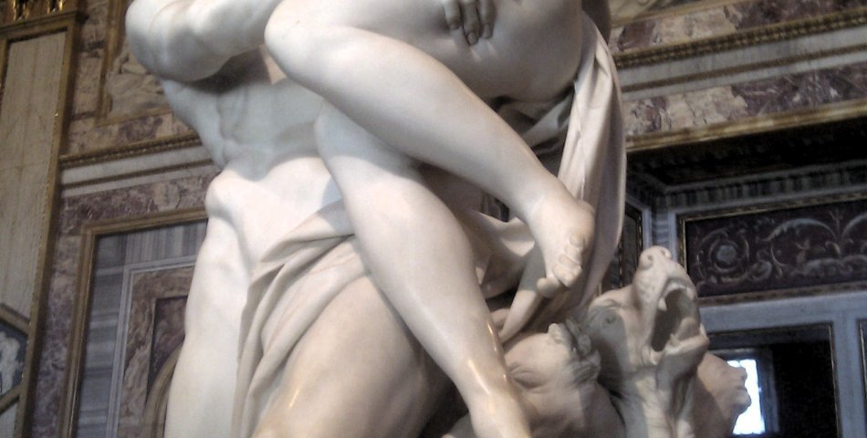 Gianlorenzo Bernini: Rape of Proserpina (by Bernini)
