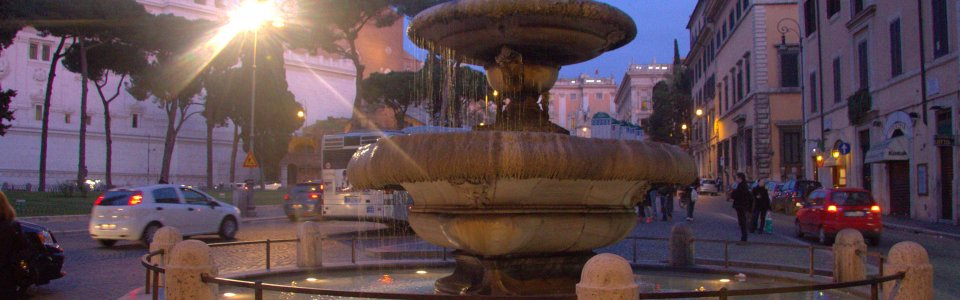 Source F. Abricio: Fountain under the Capitolini hill